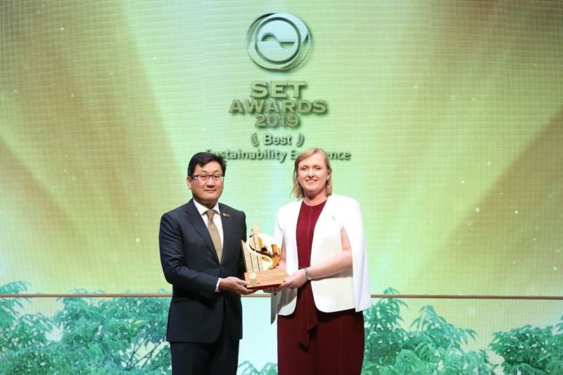 Thai Union receives Stock Exchange of Thailand best sustainability excellence award 2019, named on Sustainability Index